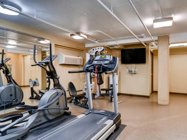 Image of Fitness Studio with Cardio and Weight Machines for Park Plaza