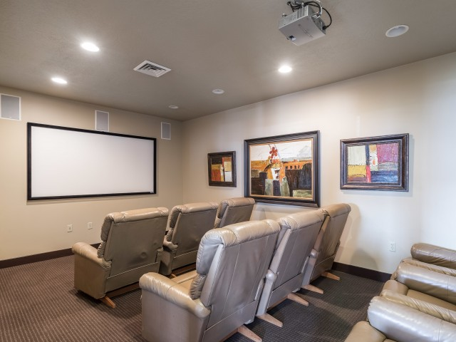 Image of Theatre  Room for Park Vue