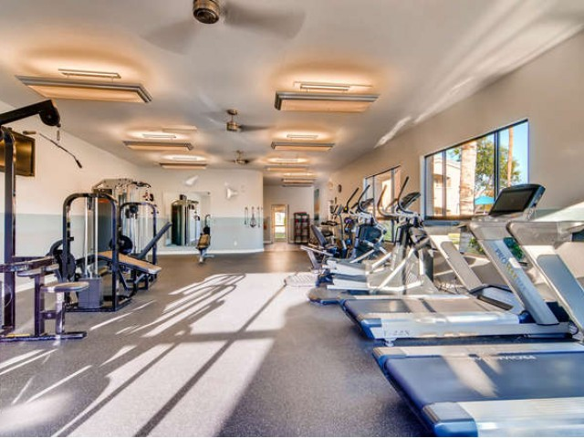 Image of Fitness Center for Palm Court Apartments