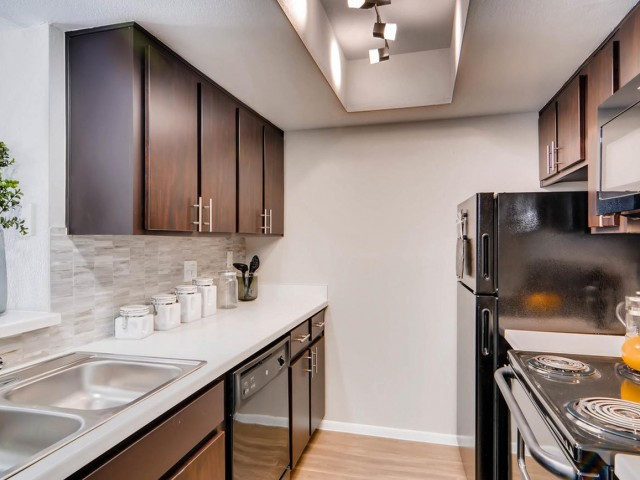 Image of Black or Stainless Steel Appliances for Rockledge Fairways Apartments