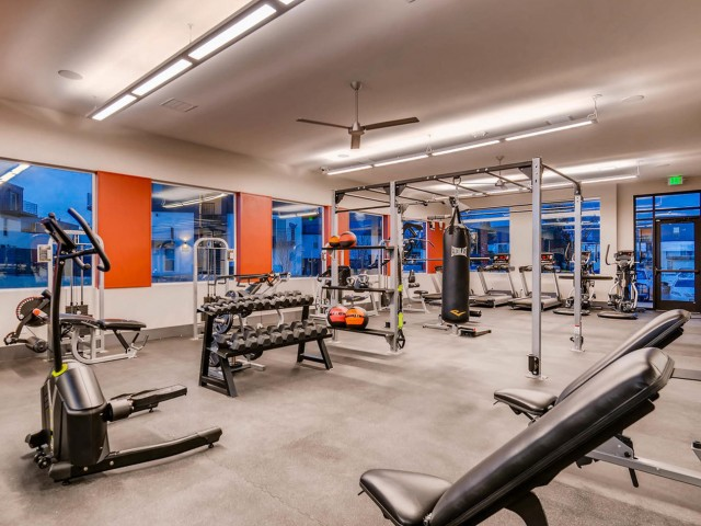 Image of Fitness Center for Copperwood Apartments