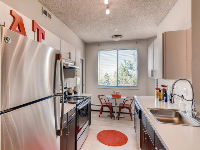 Image of Renovated   Kitchens with Built-in Microwaves* for Alta Springs Apartments