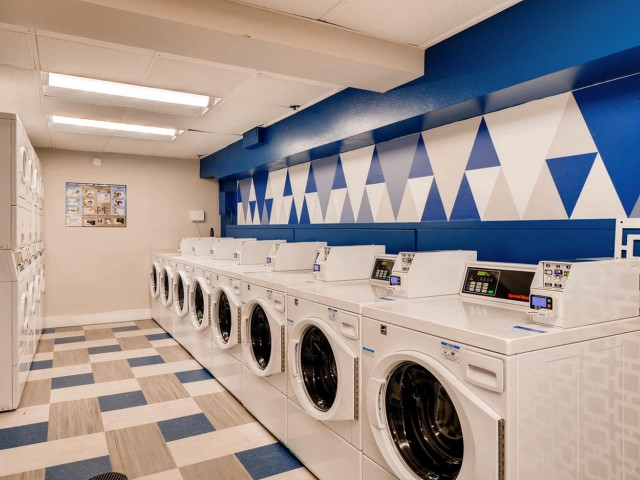 Image of Newly Remodeled Laundry Facilities for Park Plaza