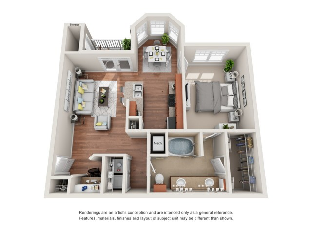 Floor Plan 9 | Deseo at Grand Mission