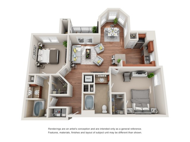 Floor Plan 10 | Deseo at Grand Mission