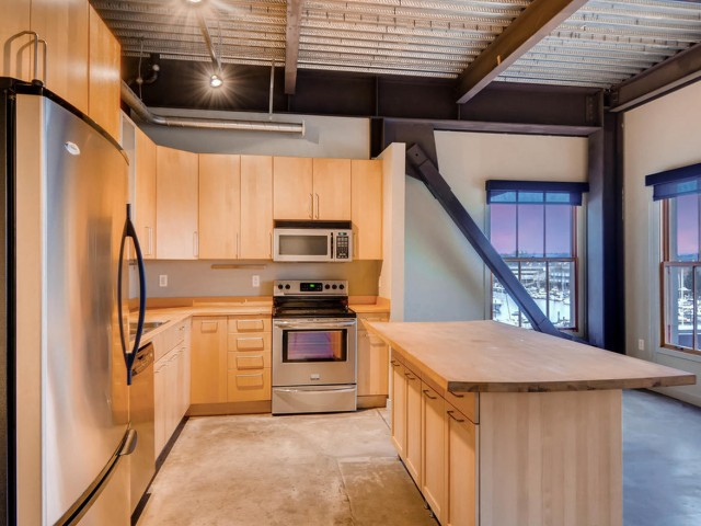 Image of Stainless Steel Appliances in Select Units for Albers Mill Lofts Apartments