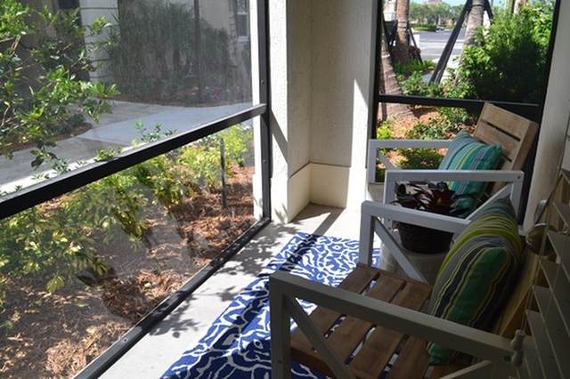 Screened-In Patios in each home
