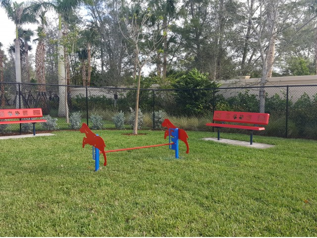 Two Dog Parks with Agility Equipment