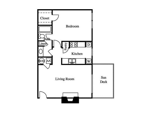 Floor Plan | Greenhouse Apartments