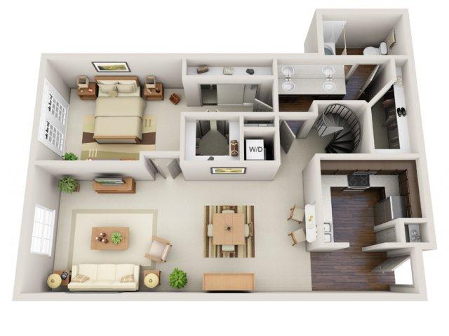 Floor Plans 8 | Deerwood Apartments