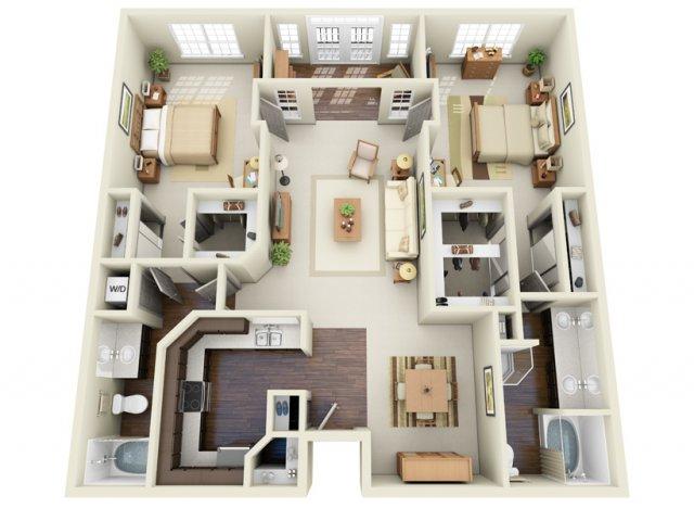 Floor Plans 7 | Deerwood Apartments