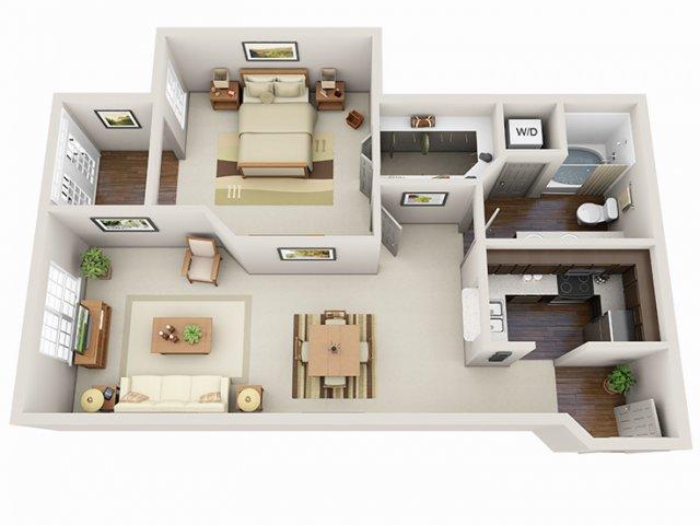 Floor Plans 16 | Deerwood Apartments
