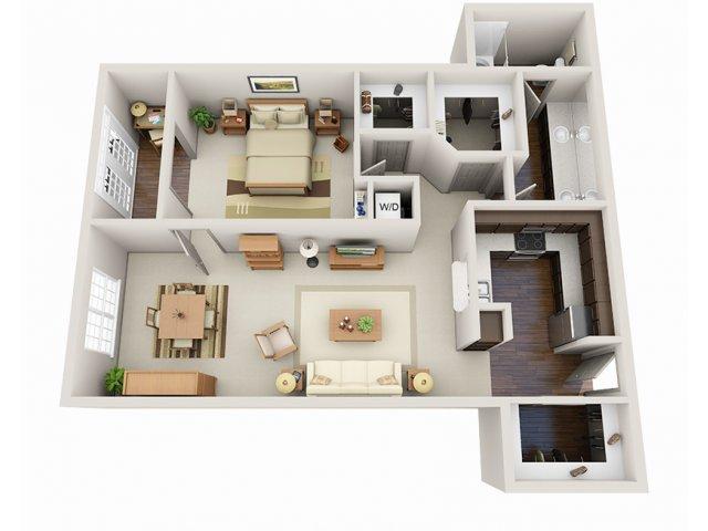 Floor Plans 6 | Deerwood Apartments