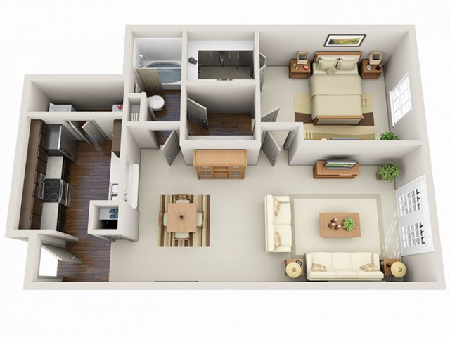 Floor Plans 22 | Deerwood Apartments