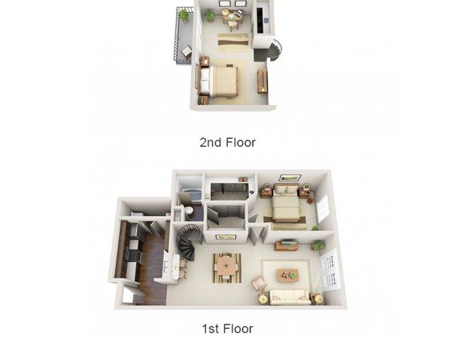 Floor Plans 17 | Deerwood Apartments