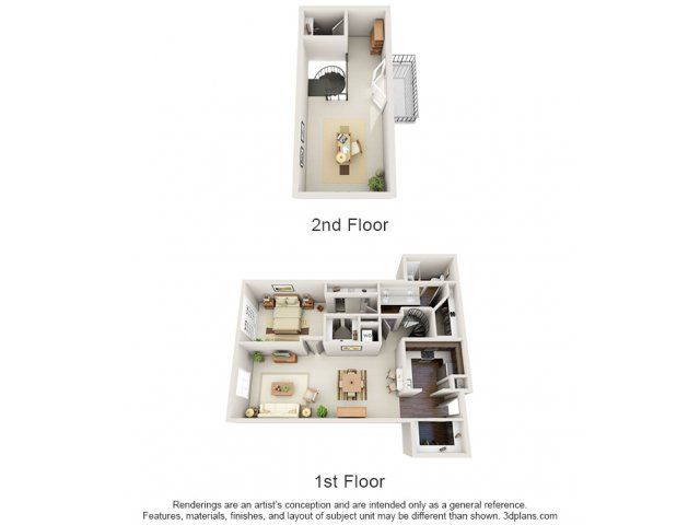 Floor Plans 1 | Deerwood Apartments