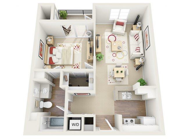 Floor Plan 10 | Apartment In Santa Monica | AO Santa Monica