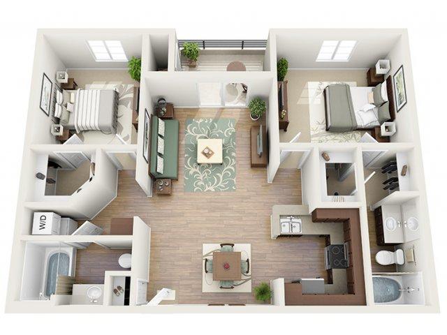 0 For The Laguna Floor Plan