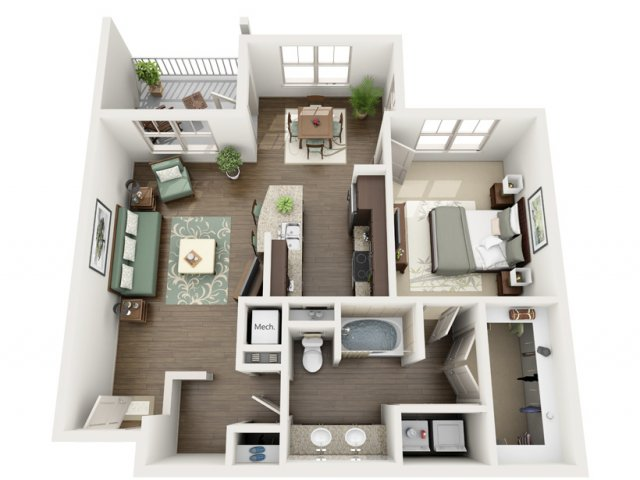 Floor Plan 12 | Azure (FL)