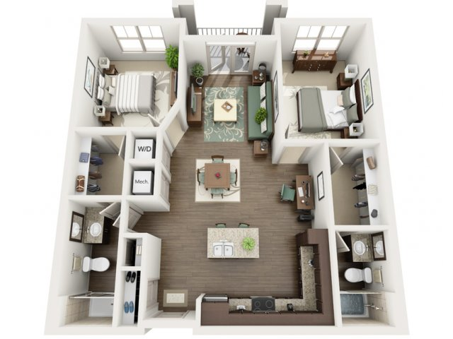 Floor Plan 20 | Azure (FL)
