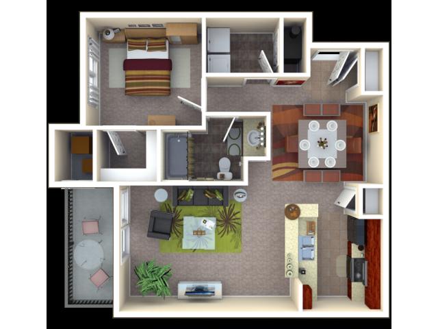 Floor Plan 3 | Autumn Breeze