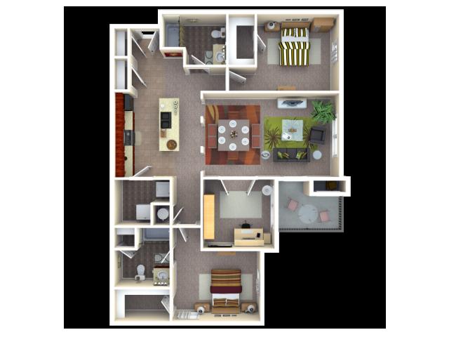 Floor Plan 5 | Autumn Breeze