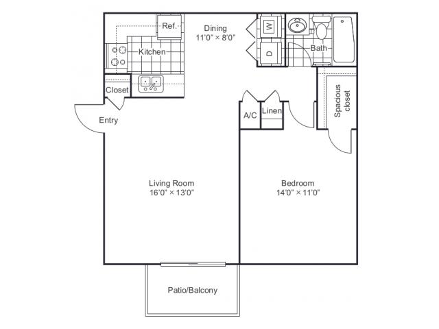Floor Plan 6 | 8500 Harwood