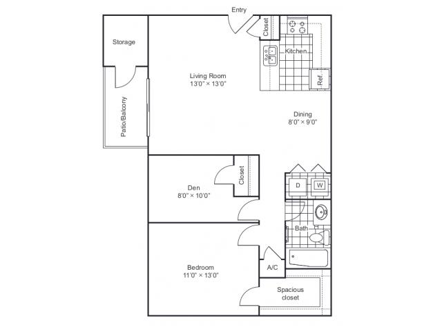 Floor Plan 5 | 8500 Harwood