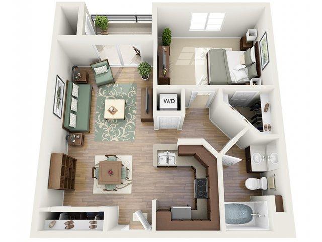 0 For The Sands Floor Plan