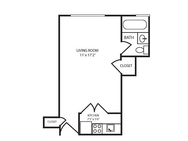 Floor Plan 1 | The Seneca