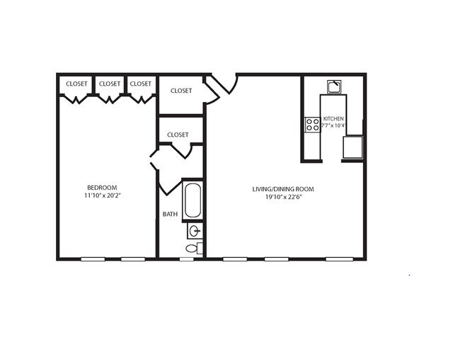 Floor Plan 10 | The Seneca
