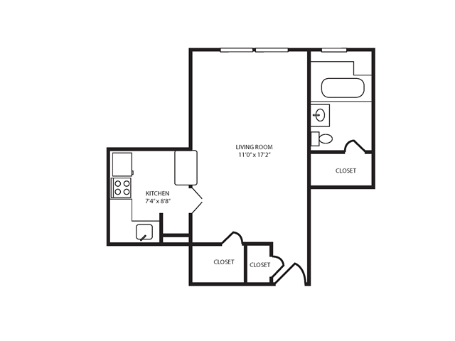 Floor Plan 3 | The Seneca