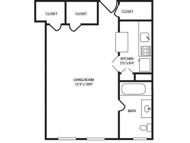 Floor Plan 4 | The Seneca