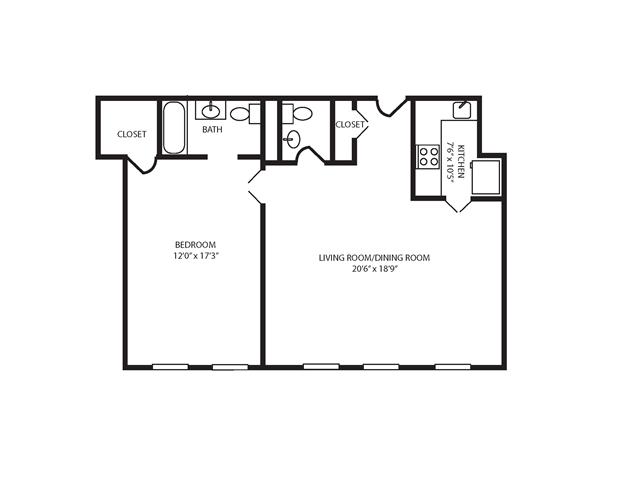 Floor Plan 17 | The Seneca