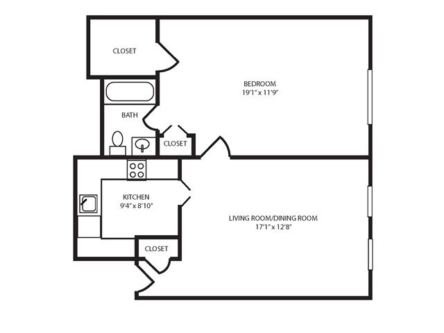 Floor Plan 5 | The Seneca