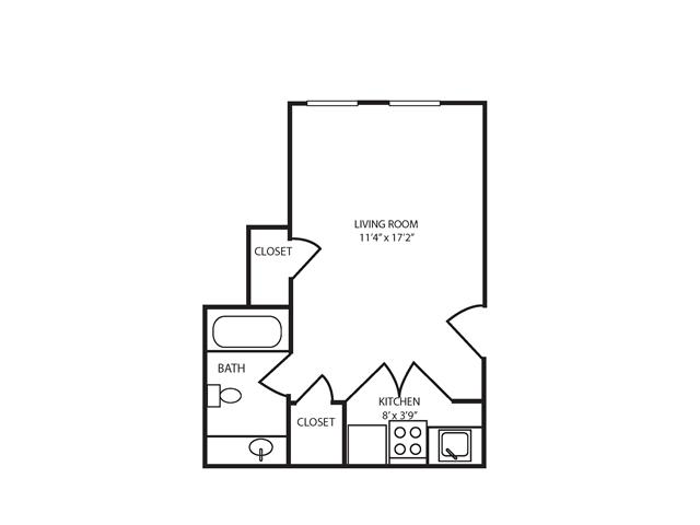 Floor Plan 23 | The Seneca