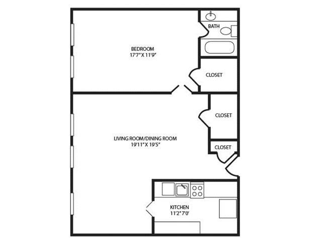 Floor Plan 22 | The Seneca