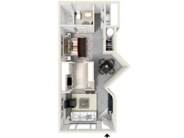 Floor Plan 1   Luxury Apartments In Tempe   Tempe Metro