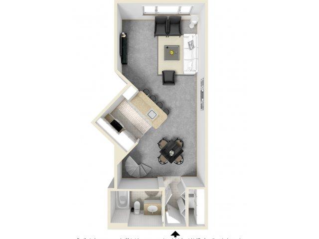 Floor Plan 6   Luxury Apartments In Tempe   Tempe Metro