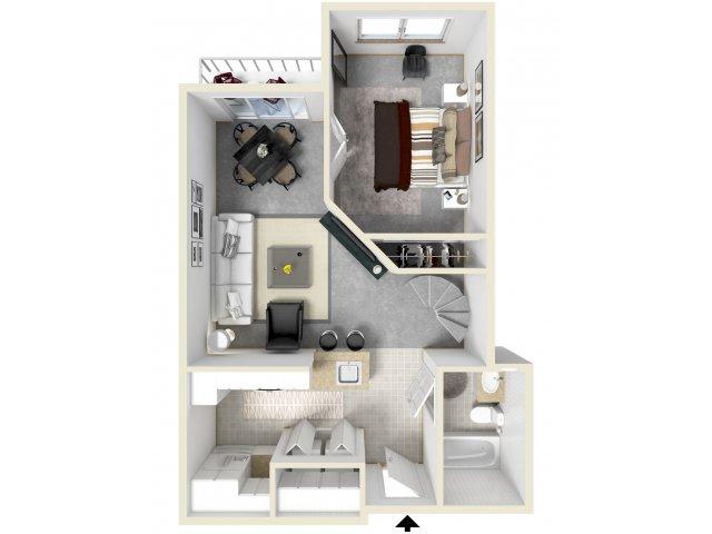 Spacious Floor Plans   Luxury Apartments In Tempe AZ   Tempe Metro