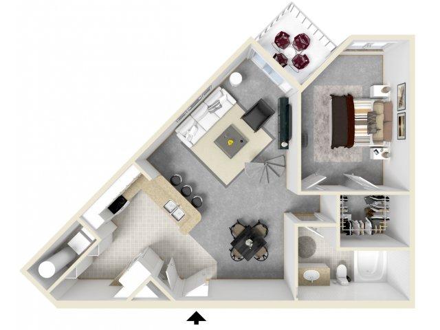 Floor Plan 12   Tempe Apartments   Tempe Metro