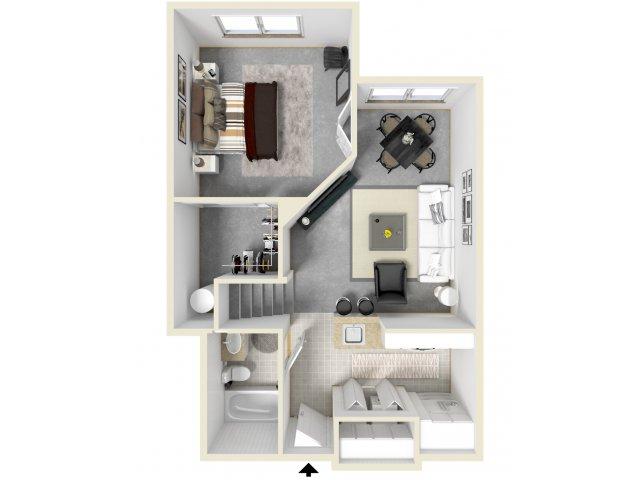 Floor Plan 8   Tempe AZ Apartments   Tempe Metro