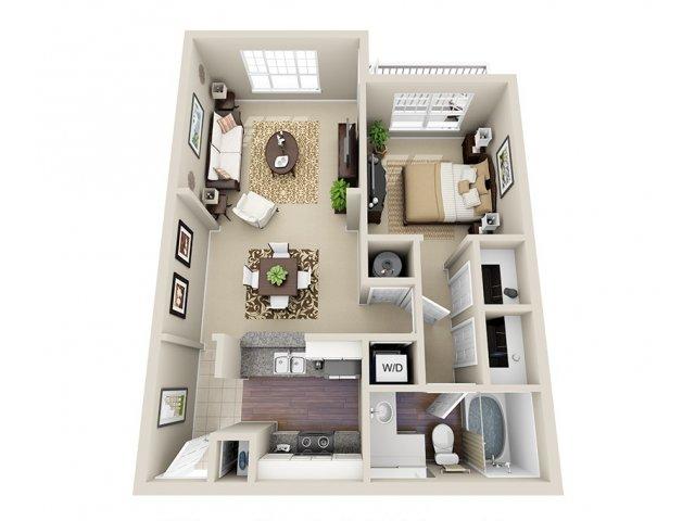 Floor Plan | Dunwoody Place Apartments 2