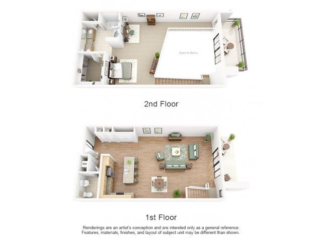 1 - 2 Bed Apartments | Ten Wine Lofts