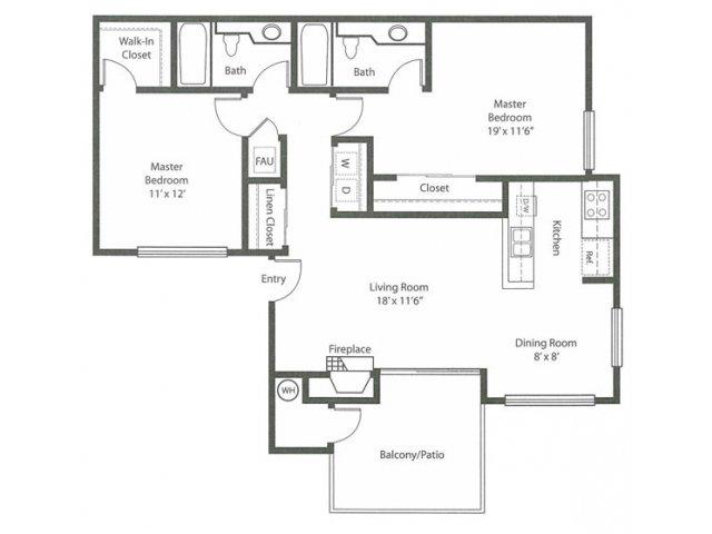 Floor Plan 2 | Cypress Creek