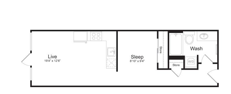 Floor Plan 6 | Mark on 8th