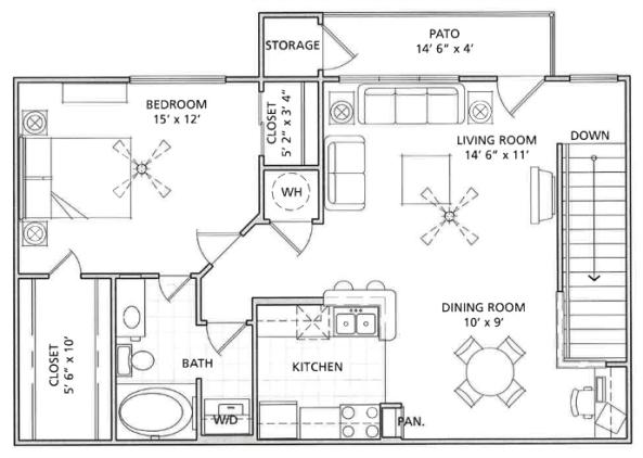 Floor Plan 6   Vail Quarters