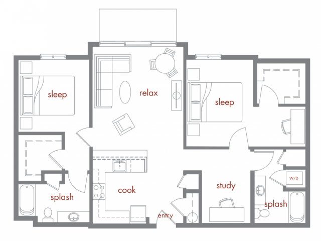 Floor Plan 9 | Tivalli