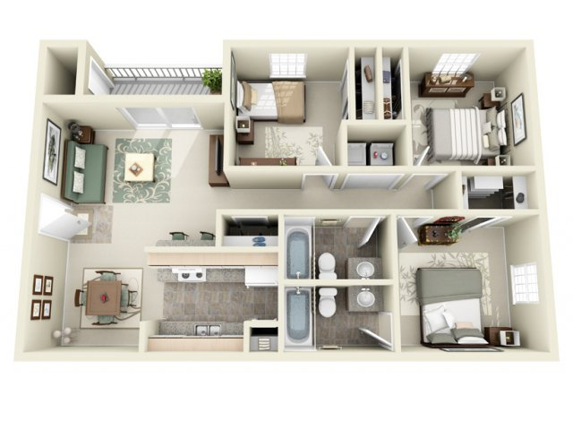 Floor Plan 4 | Carvel