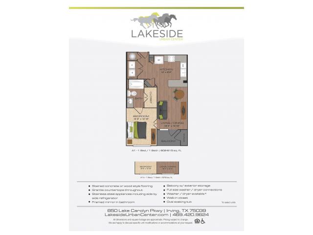 Floor Plan | Lakeside Urban Center
